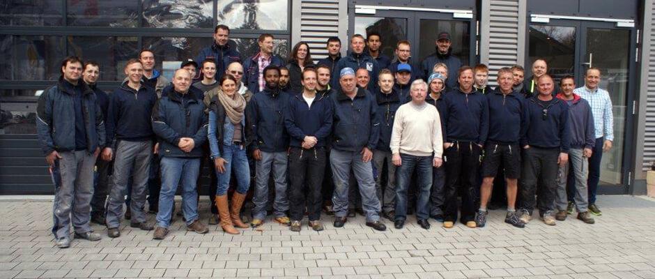 Das Team der TRAUB GmbH & Co. Haustechnik KG