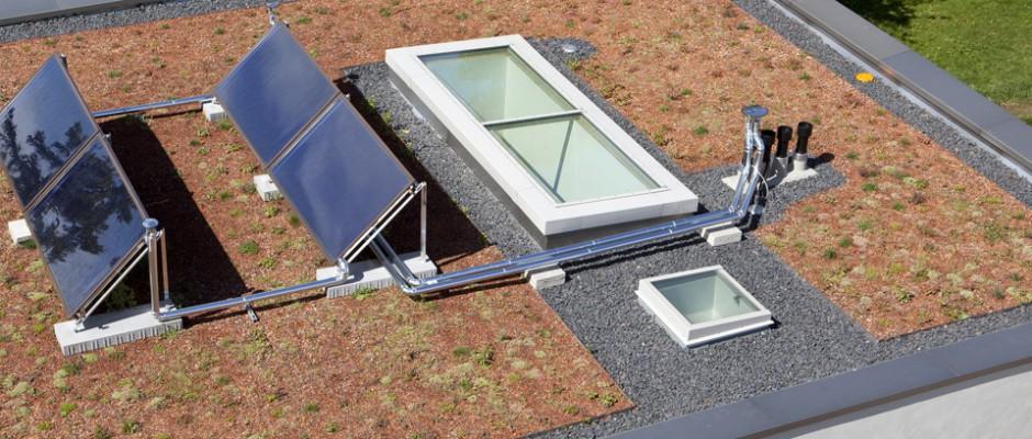 Zu unserem Angebot gehören u.a. Flachdachabdichtungen, Energiedächer & mehr
