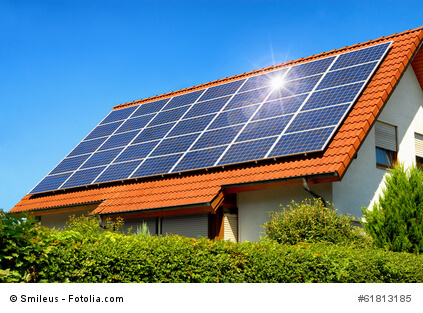 Solaranlage - Bildquelle: Fotolia.de - Urheber: Smileus