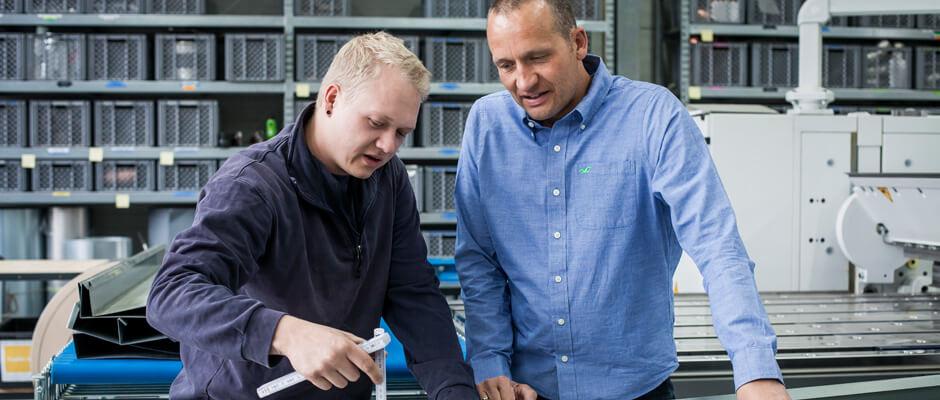 Die Werkstatt der TRAUB GmbH & Co. Haustechnik KG