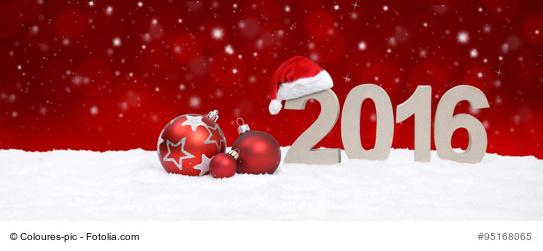 Weihnachtlicher Hintergrund 2016